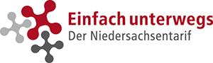 Logo Einfach unterwegs – der Niedersachsentarif
